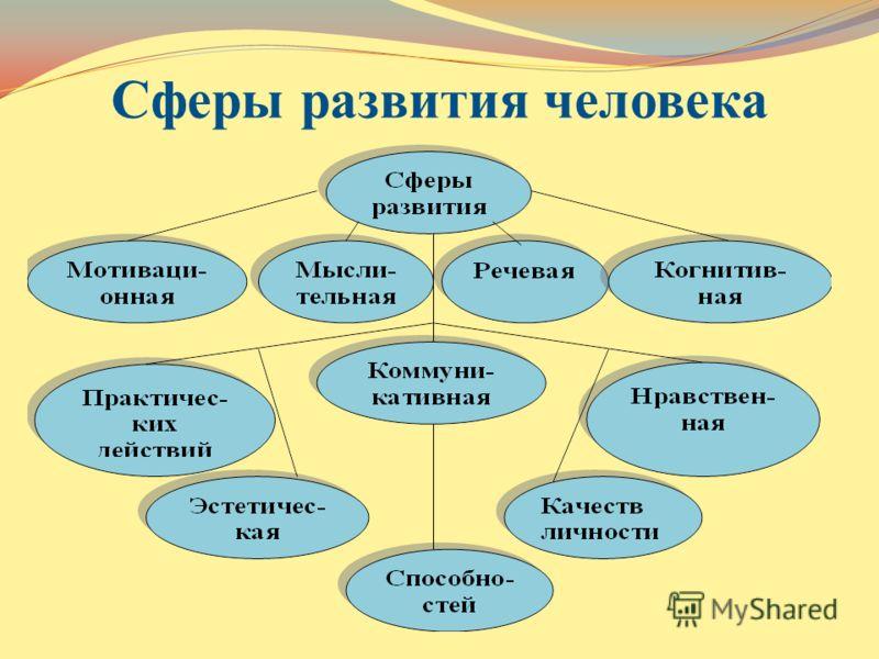 Сферы развития человека