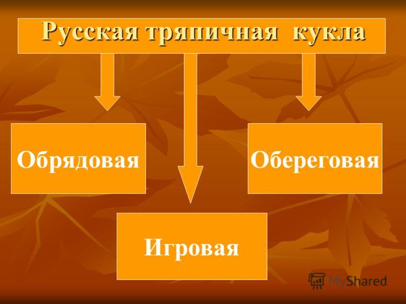Русская тряпичная кукла ОбрядоваяОбереговая Игровая