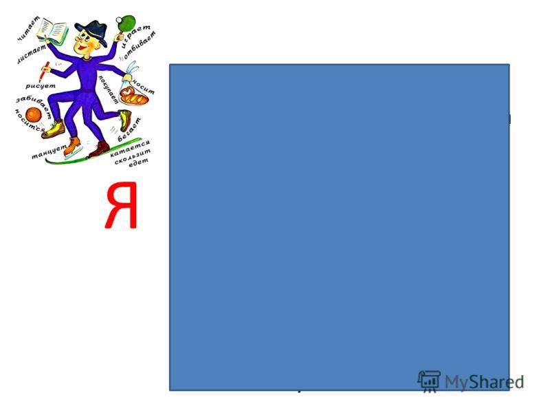 Глагол Я Часть речи Обозначаю действие предмета Отвечаю на вопросы что делать? что сделать? Изменяюсь по временам числам, в прошедшем времени - по родам Спрягаюсь Имею неопределённую форму В предложении чаще всего бываю сказуемым