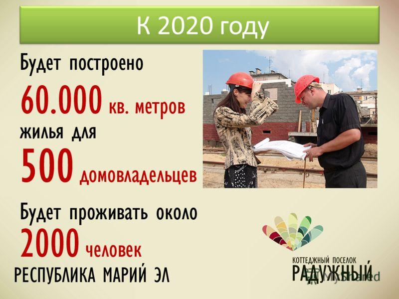 К 2020 году