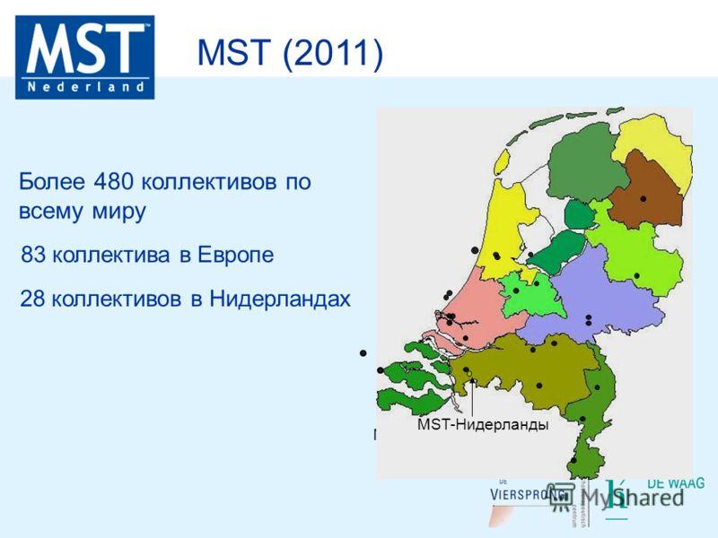 MST-Nederland MST (2011) Более 480 коллективов по всему миру 83 коллектива в Европе 28 коллективов в Нидерландах MST-Нидерланды