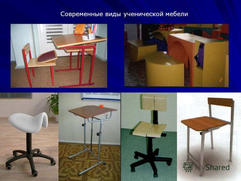 27 Современные виды ученической мебели