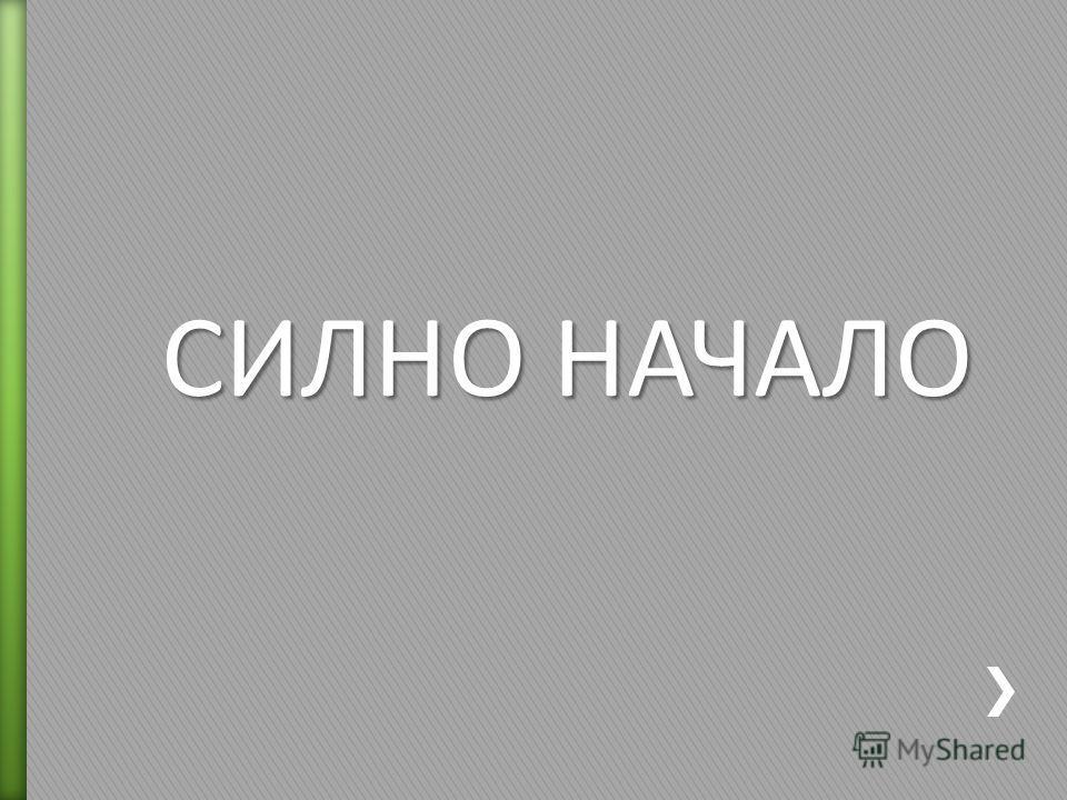 СИЛНО НАЧАЛО