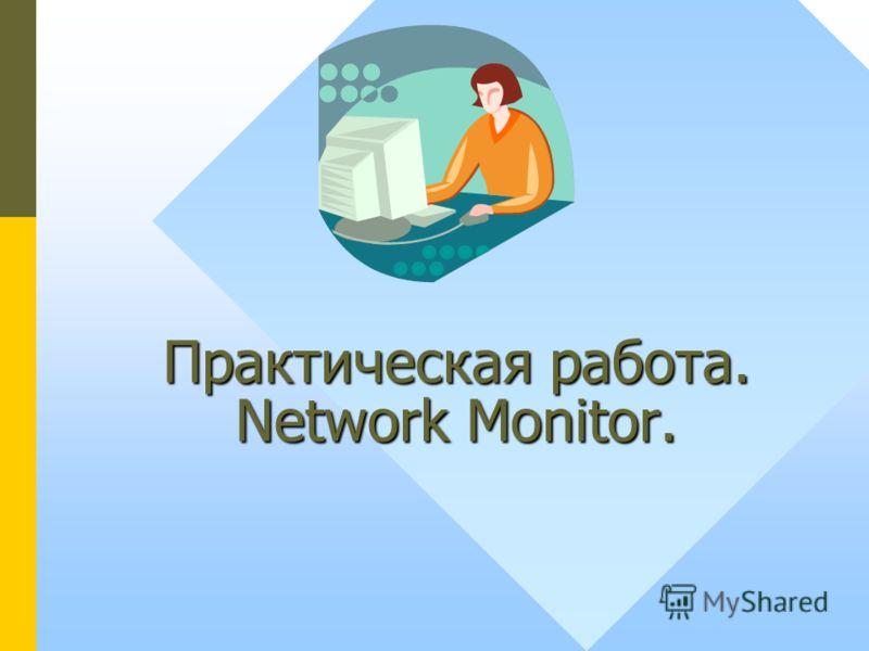 Практическая работа. Network Monitor.