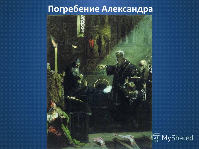Погребение Александра