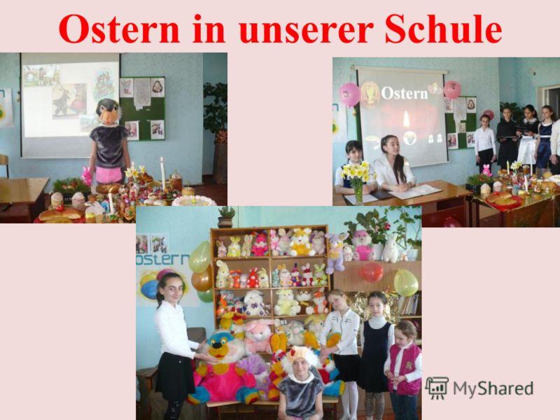 Ostern in unserer Schule