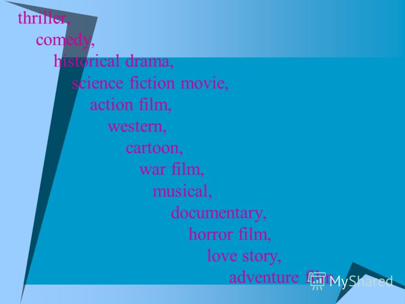 emotions films famous directors Professions (actors and Actresses) Film making process corporations genres