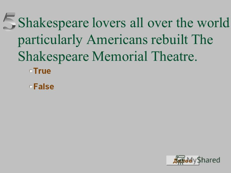 Shakespeare lovers all over the world particularly Americans rebuilt The Shakespeare Memorial Theatre.