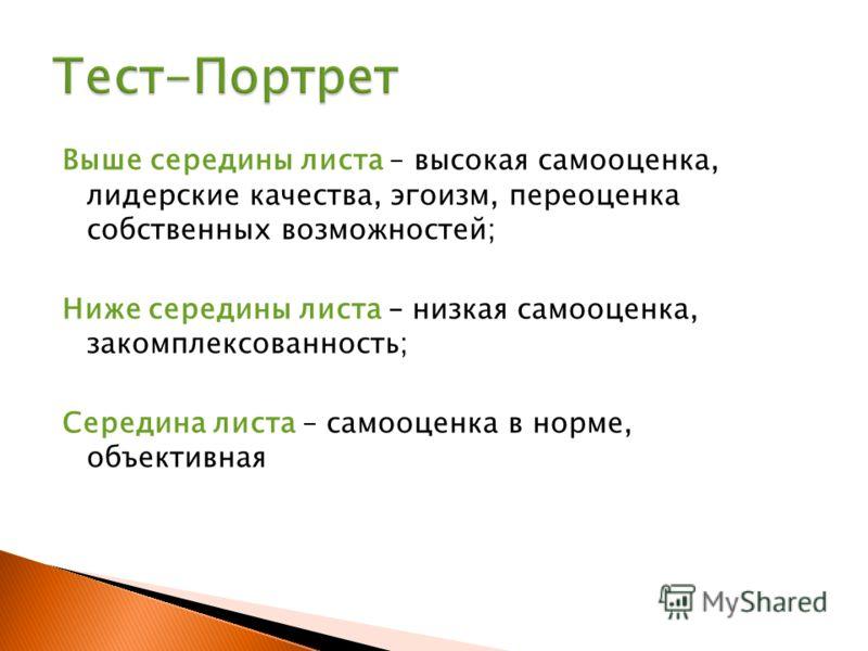 1. Тест-Портрет; 2. Внешнее проявление психологических типов; 3. Экспресс-диагностика форм личности; 4. Репрезентативный системы.
