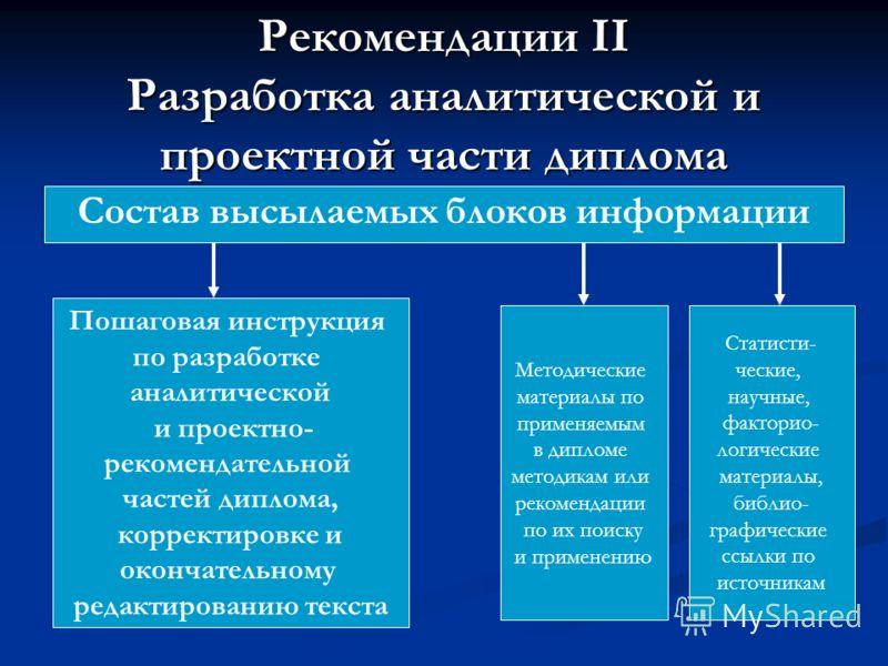 Презентация на тему Методические рекомендации по выполнению  5 Рекомендации