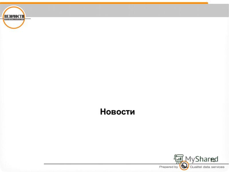 70 Новости