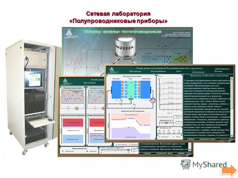 Сетевая лаборатория «Полупроводниковые приборы»