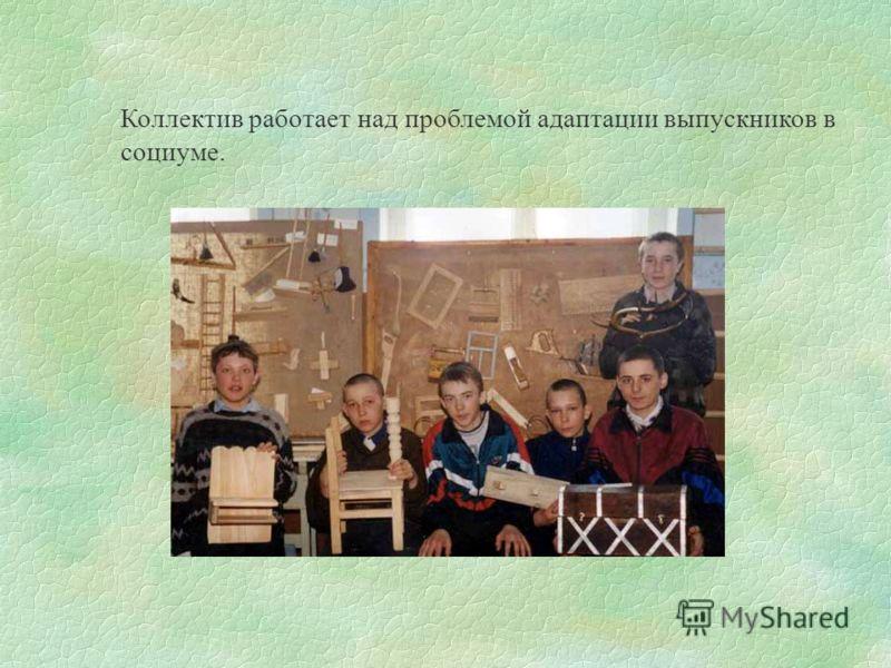 Специальная коррекционная школа с трудовой подготовкой города Куйбышева Новосибирской области работает в режиме развития.
