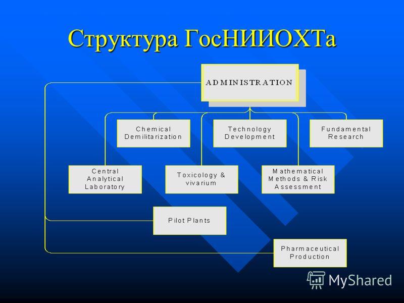 Структура ГосНИИОХТа