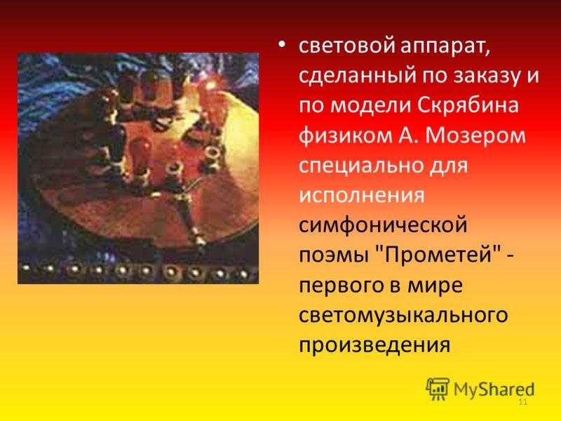 Симфоническая поэмы Прометей или Поэмы огня (1910г) 10