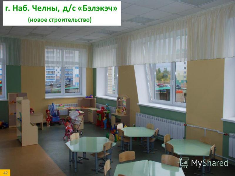 г. Наб. Челны, д/с «Бэлэкэч» (новое строительство) 42