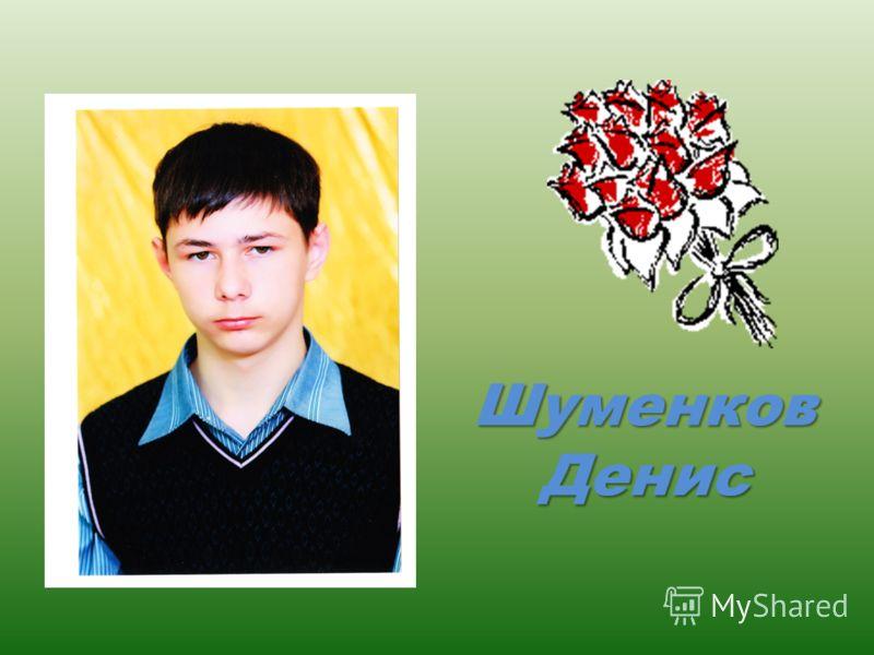 Шуменков Денис
