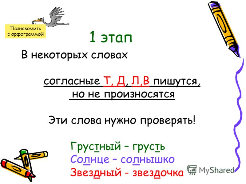Контрольные диктанты на тему непроизносимые согласные в корне слова 3 класс