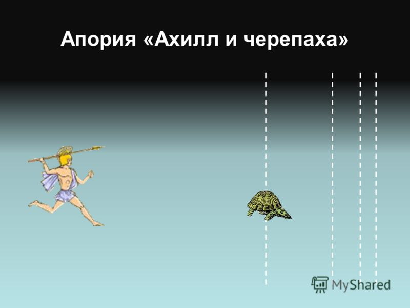 Апория «Ахилл и черепаха»