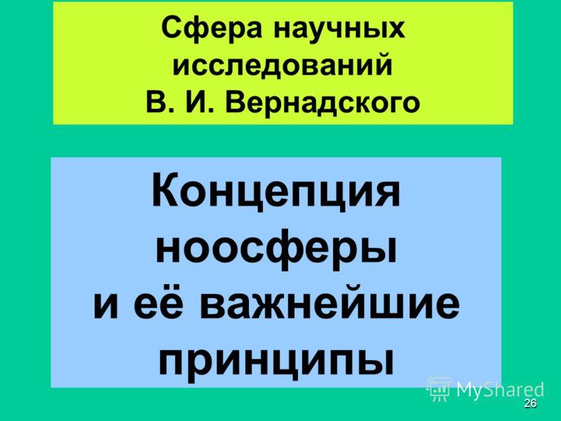 25 Вопрос 3 Владимир Иванович Вернадский (1863 Петербург - 1945 Москва)