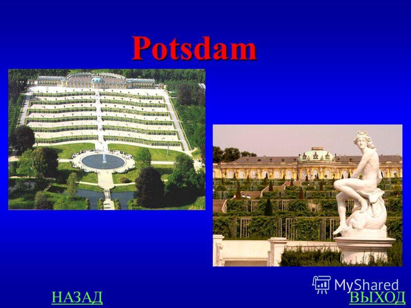 Städte 300 In welcher Stadt befindet sich die berühmte Schloss- und Parkanlage Sanssouci?