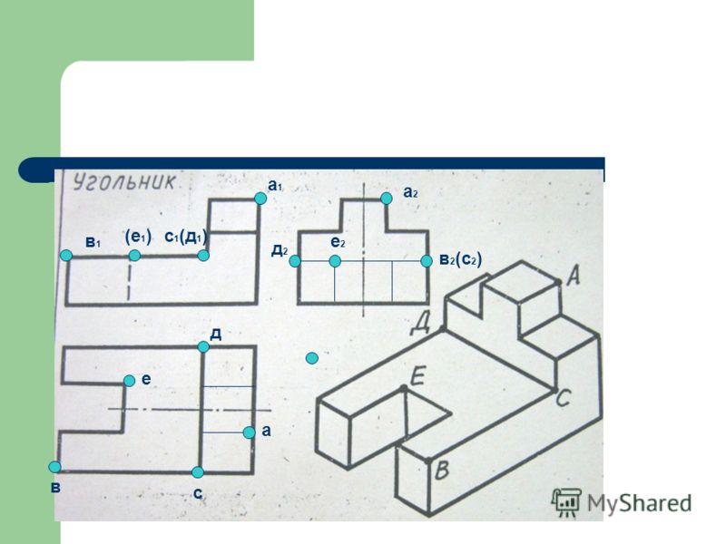 а в е с д в1в1 (е 1 )с 1 (д 1 ) а1а1 е2е2 в 2 (с 2 ) а2а2 д2д2
