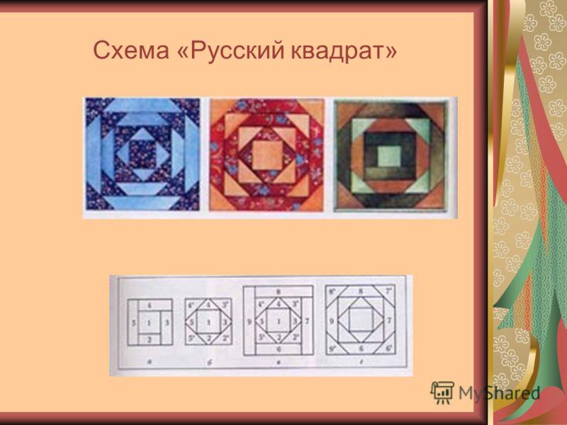 Схема «Русский квадрат»