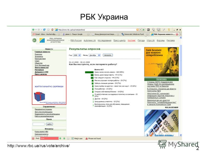 РБК Украина 2 http://www.rbc.ua/rus/vote/archive/