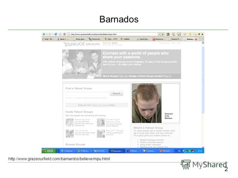 Barnados 2 http://www.grazeourfield.com/barnardos/believe/mpu.html