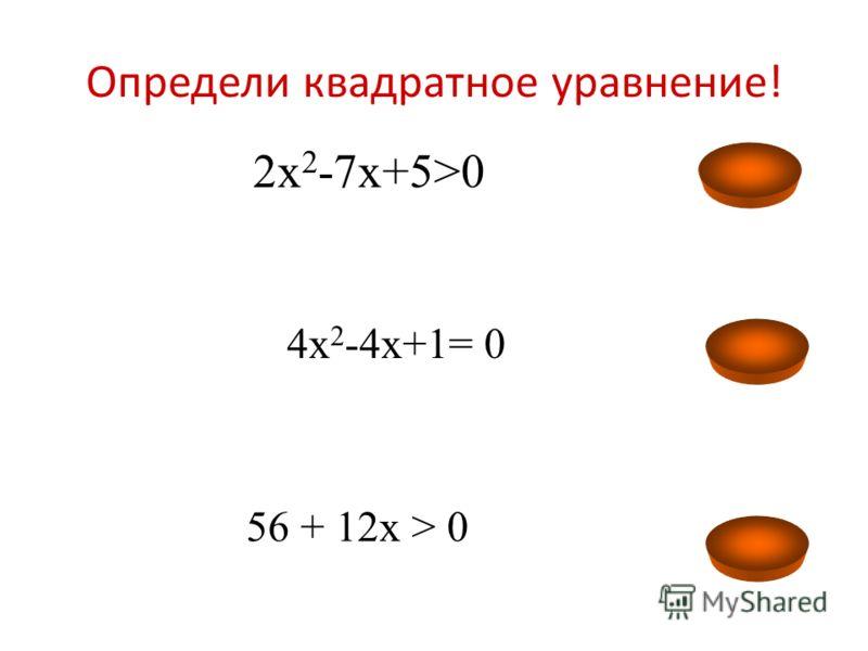 Цель: 1.Объяснить правило решения квадратных неравенств 2.Формировать умение сопоставлять алгоритм решения квадратного уравнения и неравенства второй степени. 3. Совершенствование навыков самостоятельной поисковой деятельности.