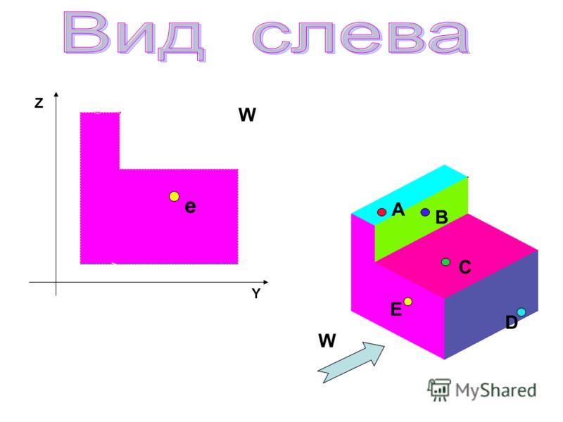 А B C D E e Z Y W W