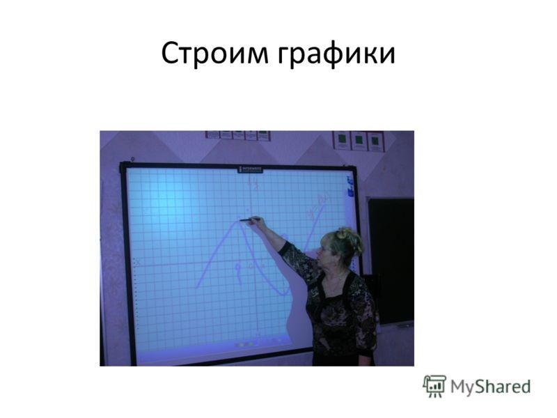 Строим графики