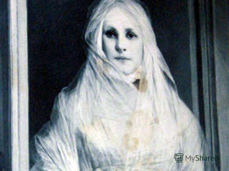 Белая Дама была женщиной ослепительной красоты, с длинными светлыми волосами, в белом платье из дорогих кружев. Увидеть Белую Даму мог лишь тот, кто был рождён 13-го в воскресенье ближе к полуночи