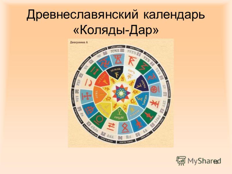 16 Древнеславянский календарь «Коляды-Дар»