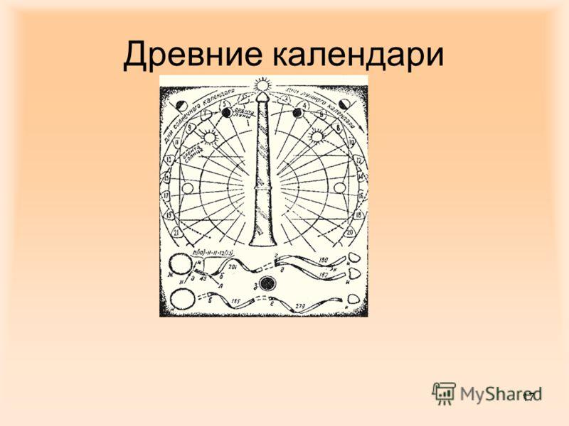 17 Древние календари