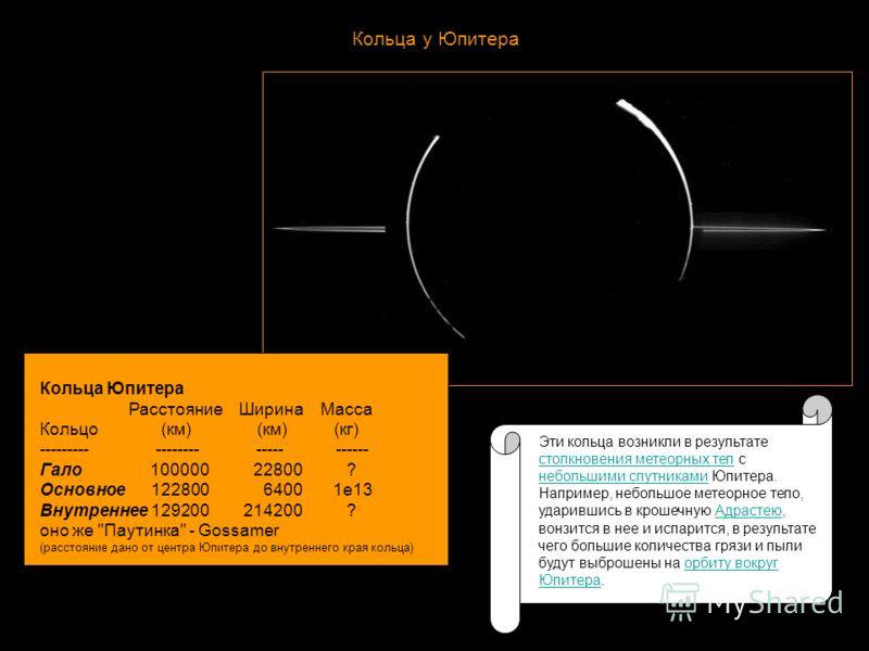 Строение Юпитера 1) ядро из горных пород весом от 10 до 15 масс Земли 2) основной объем планеты, состоящий из жидкого металлического водорода 3) Внешние слои планеты состоят главным образом из обыкновенного молекулярного водорода и гелия, которые нах