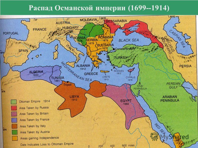 Распад Османской империи (1699--1914)