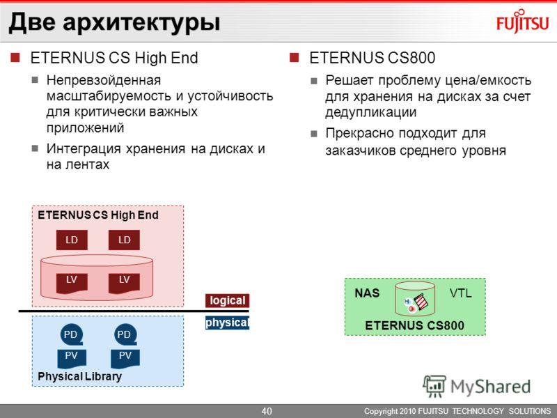 ETERNUS CS800