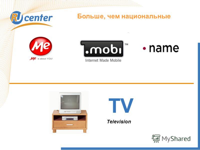 Как работает домен TEL? Больше, чем национальные TV Television