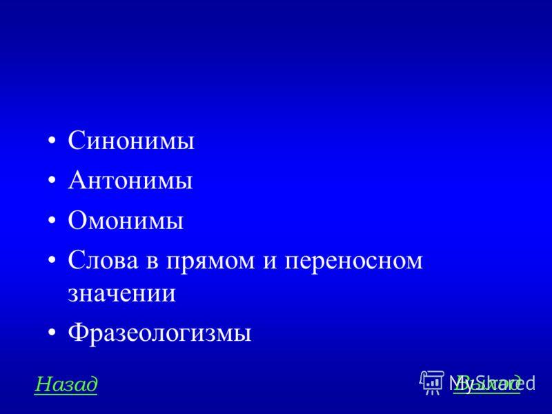 ЛЕКСИКА И ФРАЗЕОЛОГИЯ 200 Назовите основные лексические средства языка