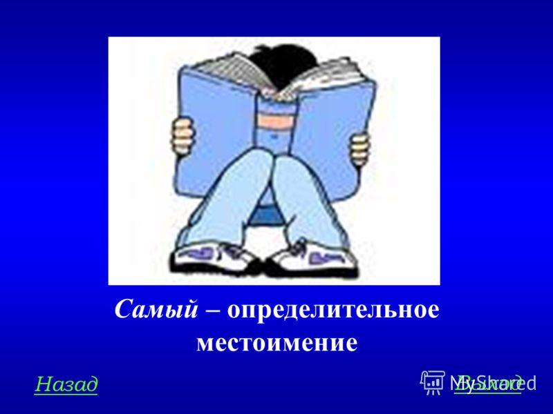 МОРФОЛОГИЯ 400 Определите разряд местоимения в словосочетании: самый умный