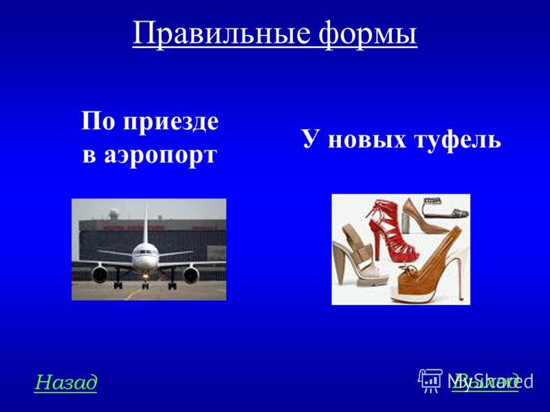 НОРМЫ ЛИТЕРАТУРНОГО ЯЗЫКА 400 Определите, есть ли нарушения в употреблении форм существительных: а) по приезду в аэропорт б) у новых туфлей в) пара сапог г) десять киргизов