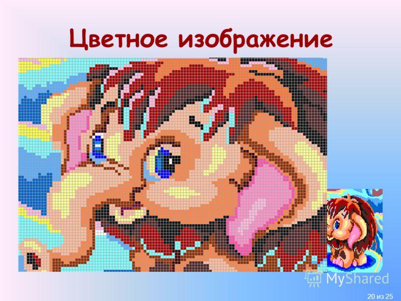 20 из 25 Цветное изображение