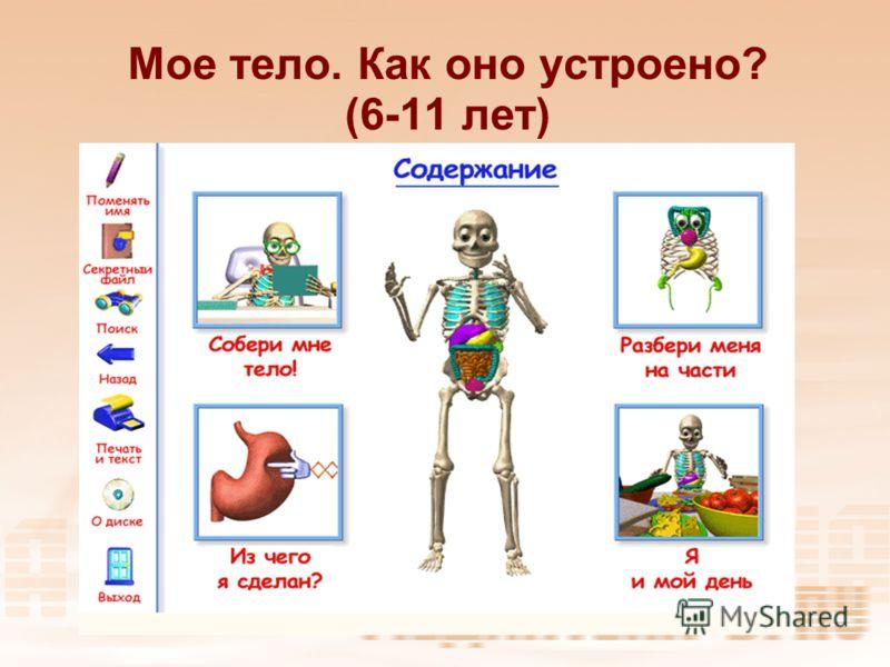 Мое тело. Как оно устроено? (6-11 лет)
