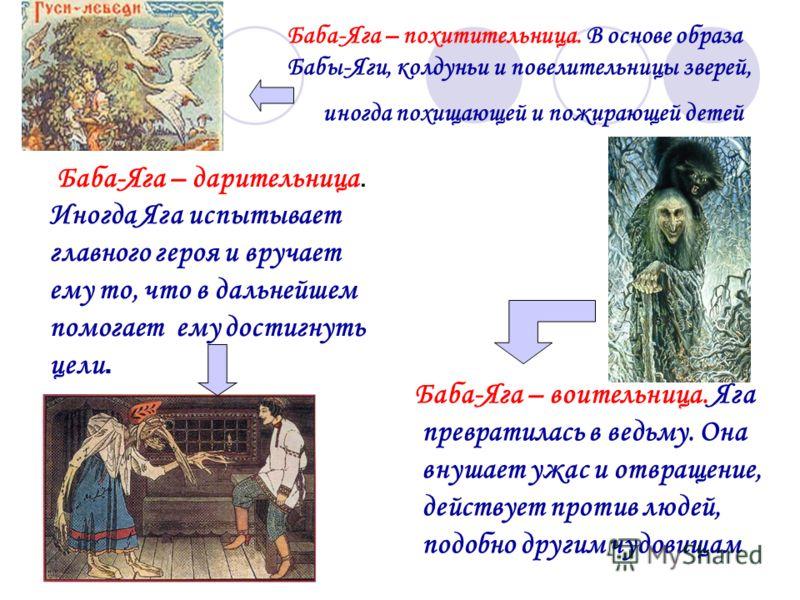 Различные образы Бабы-Яги, встречающиеся в сказках. Баба Яга - инопланетянин, прибыла к нам из Космоса, поэтому она умеет летать