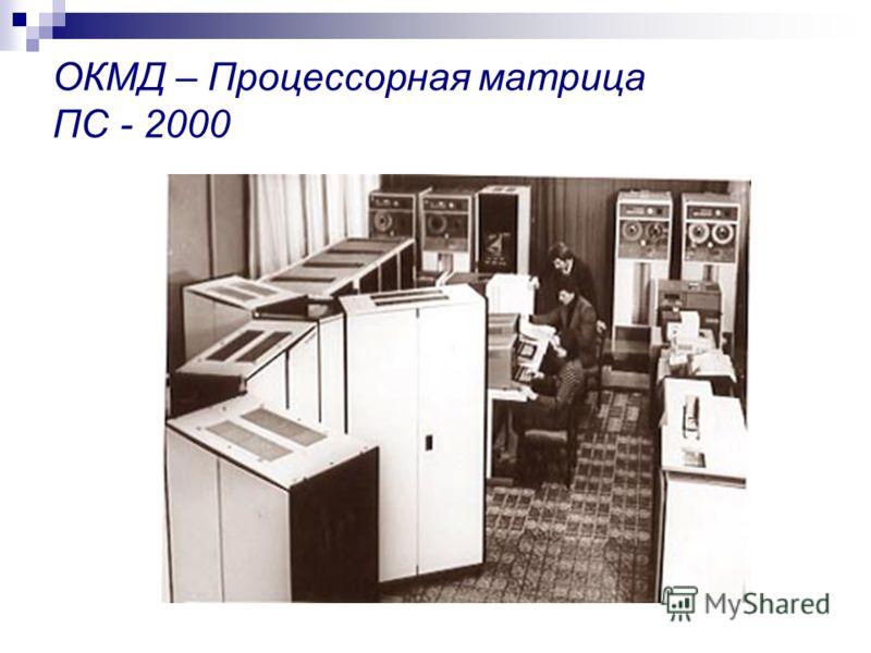 ОКМД – Процессорная матрица ПС - 2000