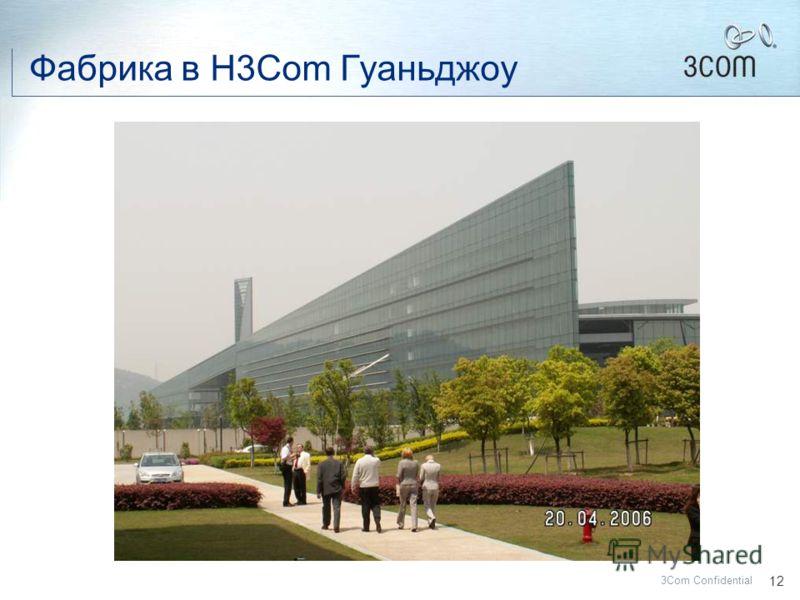 11 3Com Confidential ДЛЯ ЧЕГО МЫ СОЗДАЛИ H3C ? 1.Установить присутствие на китайском рынке – самом быстрорастущем в мире. 2.Максимально использовать имеющийся инженерный потенциал 3.Получить доступ к производству ведущих продуктов в области маршрутиз