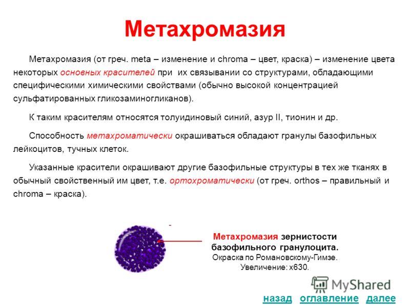 Метахромазия