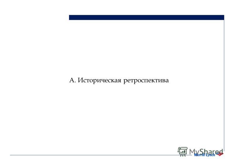 А. Историческая ретроспектива