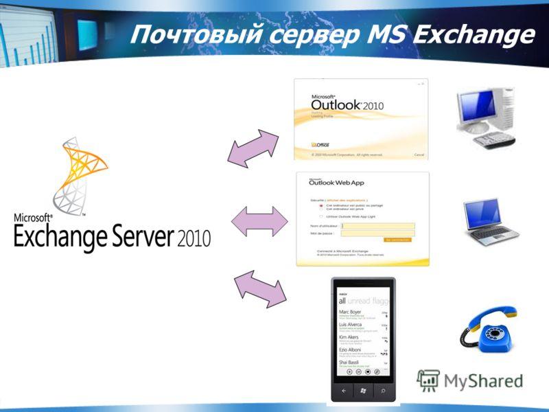 Почтовый сервер MS Exchange